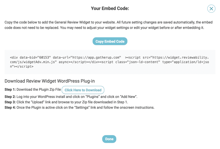 review-widget-copy-embed-code