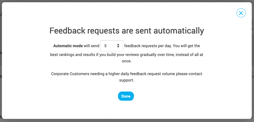 send-feedback-request-automatically